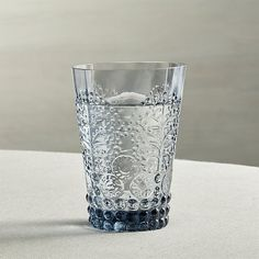 Blue Drinking Glassware Cococozy Crate and Barrel