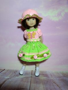 """SENDY_DOLLS * Exlusive OUTFIT for 8"""" Heartstring By Dianna Effner 