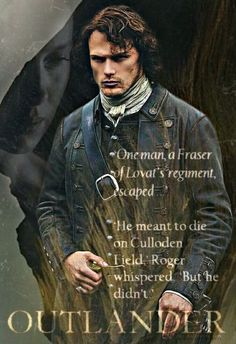 He meant to die at # Culloden, but he didn't.  #JamieFraser #Outlander