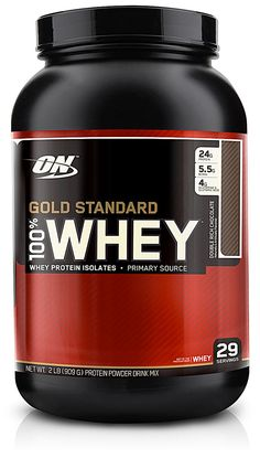 Optimum Nutrition Gold Standard 100% Whey Double Rich Chocolate - 24g Protein