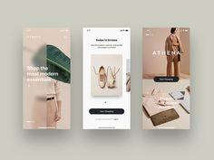 Trendy Social Networking Mobile iOS App UI Design - E-commerce Fashion Mobile App UI Design – Onboarding - Minimal Web Design, Ui Ux Design, Sitemap Design, Application Ui Design, Design Responsive, User Interface Design, Flat Design, Mobile App Design, Mobile App Ui