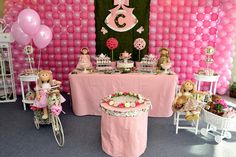 Check out this doll party!
