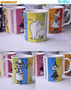 Moomin mugs - watched a documentary on Tove Jansson over the holidays. Love it!