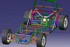 HAYNES ROADSTER - STEP / IGES - 3D CAD model - GrabCAD