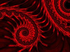 526c5b0027d Conceptual fractal art depicting the descent into the depths of hell.  Original art by Susan
