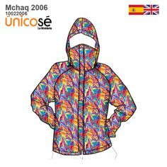 CHAQUETA CON TAPABOCA MUJER 2006 - Moldes Unicose Patterned Bomber Jacket, New Product, Adidas Jacket, Hoodies, Sweaters, Outfits, Leo, Blazers, Style