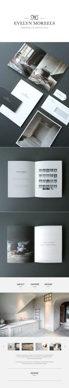 Branding & Webdesign for Evelyn Moreels by www.chilli.be