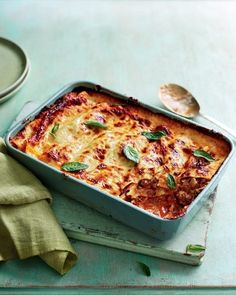Making a lasagne is a labour of love, one where the rewards are evident in every mouthful. This classic lasagne recipe is hearty, comforting and will leave you wanting more. Delicious Magazine Recipes, Homemade Bolognese Sauce, Lasagne Recipes, Vegetable Puree, Rigatoni, Roasted Vegetables, The Fresh, Italian Recipes