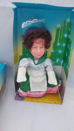 1984 version Turner Entertainment Wizard of Oz doll, Wizard of Oz Munchkin figurine, Munchkin collectible, Wizard of Oz collectible munchkin by FlowerChildTrends on Etsy