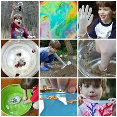 10 {Silly} Science Experiments for Kids