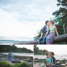 Peter and Christina's Beautiful Beach Pre Wedding Shoot. By Photography Chantal