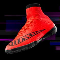 Nike SCCRX FOOTBALLX MecurialX Proximo IC - Bright Crimson   Black -  Released April 2 83a2aba41d49b
