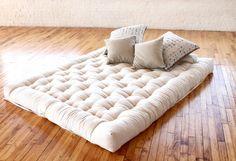 Green Cotton Boulder Firm Mattress | Eco Lifestyle Home