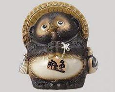 Wish Tanuki Figure
