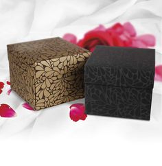 Stunning black and gold gift boxes!