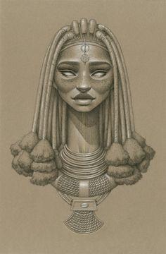 Mukuru Sun Goddess by Sara Golish