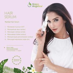 Hair Growth Serum Green Angelica
