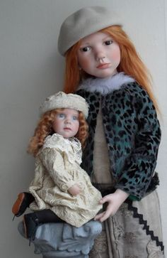 Falling in love with these Zwergnase dolls