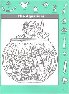 Hidden Pictures Classics: Fish Tales Details - Rainbow Resource Center, Inc. Learning Activities, Activities For Kids, Hidden Pictures Printables, Hidden Picture Puzzles, Rainbow Resource, Fish Tales, Vision Therapy, Hidden Objects, Activity Sheets