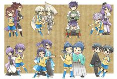 Mixi Max  | aww, this is adorable!! shuu and tenma tho  |