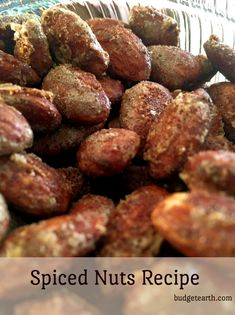 Looking for a delicious treat that is perfect for gifts or a quick snack? Check out our amazing spiced nuts recipe here! Nut Recipes, Best Dessert Recipes, Cupcake Recipes, Fun Desserts, Delicious Desserts, Snack Recipes, Cooking Recipes, Party Recipes, Yummy Recipes