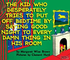 book horrible title green goodnight moon cover