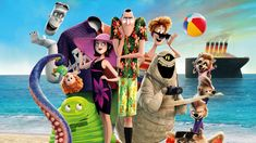 Hotel Transylvania 3 - He's going to need a vacation after this vacation. The monsters embark on a vacation on a luxury monster cruise ship so that Drac can take a summer vacation from providing everyone else's vacation at the hotel. Dracula, Watch Hotel Transylvania, Hotel Transylvania Characters, Fantasy Hotel, Admirateur Secret, Abraham Van Helsing, Voyage Quotes, Steve Buscemi, Free Hotel