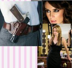 El esposo trian pistola