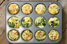 A fast and healthy breakfast option, these breakfast egg muffins offer variety, easy, and nutrition to your morning routine. Perfect for meal prep! Gourmet Breakfast, Healthy Breakfast Muffins, Healthy Breakfast Options, Breakfast Bake, How To Make Breakfast, Healthy Snacks, Breakfast Recipes, Healthy Eating, Healthy Recipes