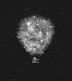 Supernova Sky Ride Art Print by Zach Terrell | Society6