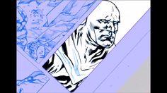 Digital Inking on Yanick Paquette's Batman page