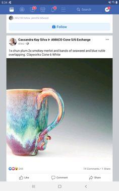 Glazing Techniques, Ceramic Techniques, Pottery Techniques, Glazes For Pottery, Pottery Mugs, Ceramic Pottery, Slab Pottery, Ceramic Clay, Ceramic Bowls
