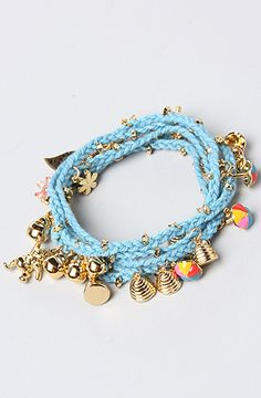 Disney Couture Jewelry The Pooh Collection Wrap Bracelet in Blue : Karmaloop.com - Global Concrete Culture