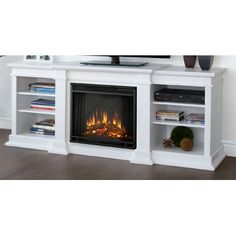 Modern Electric Fireplace Tv Stand Lowes Images with Regard to ...