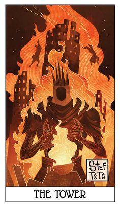Dark Souls fan art: the tower