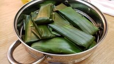 Suman Cassava with Macapuno - PinoyCookingRecipes Filipino Dishes, Filipino Desserts, Filipino Food, Filipino Recipes, Suman Cassava Recipe, Cassava Cake, Soft Pandesal Recipe, Jelly Cheesecake, Beef Tapa