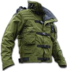 MARK IV Tactical Jacket, Padding for spine and elbows.