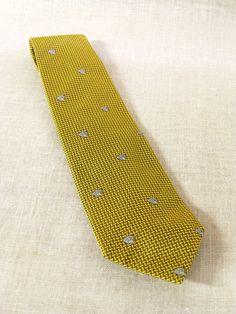 Versace Necktie , Unused , Mint , Yellow , Medusa , Silk Tie , Menswear , Mans Tie , Designer , Couture , High Fashion , Cravat , Ties