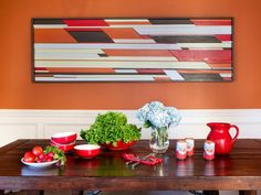 Banish blank walls and channel your inner artist with these totally doable, trendy DIY wall art projects.