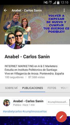 Hoy hemos llegado a los 100 seguidores en Google+ ahora vamos a por las 100.000 vistas. Seguimos creciendo en nuestro negocio Online. #anabelycarlos #alcanzandometas