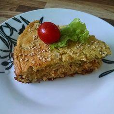 O Prazer de Emagrecer: Torta de Frango com Batata Doce