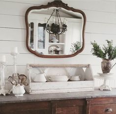 Beautiful cottage decor in white
