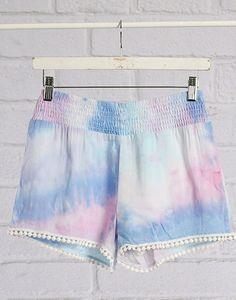 Aurora Tie Dye Festival Shorts for the true unicorn in you :)
