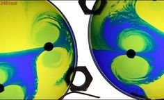 Turbilhão elétrico colorido - Lindo demais! Superquímica #30