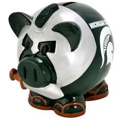 Michigan State Spartans Thematic Piggy Bank