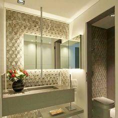 Um luxo de lavabo. Por Samy e Ricky arquitetura