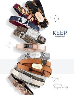 Keep Collective Fall 2016 Inspiration Guide.  Beautiful new jewelry for Autumn.  Bracelets, Pendant Necklaces, Time Pieces, Watches.  CharmsByJill@gmail.com  www.keep-collective.com/with/jillulrich