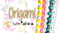 awesome NEW EASY Origami Rainbow Loom Bracelet Tutorial | How To