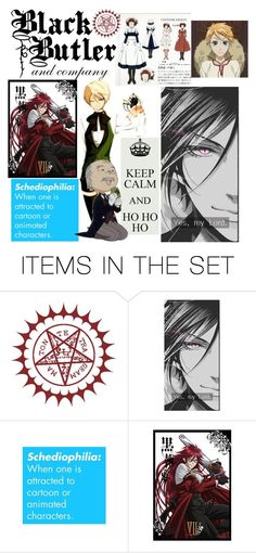 """""""Ciel's Posse"""" by ffendi ❤ liked on Polyvore featuring art"""
