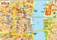 Natascha Schwartz Map of Cologne Koln obsessed with maps